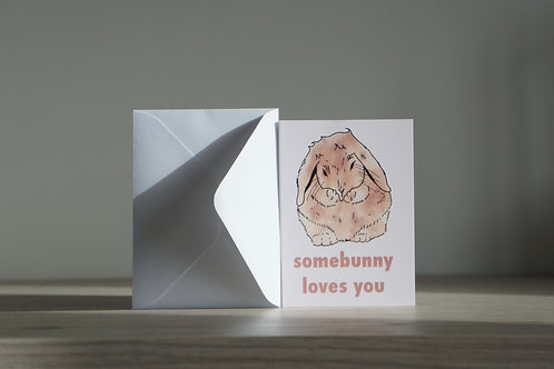 Somebunny Loves You - Occasion Card