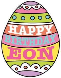 Happy Birthday Egg