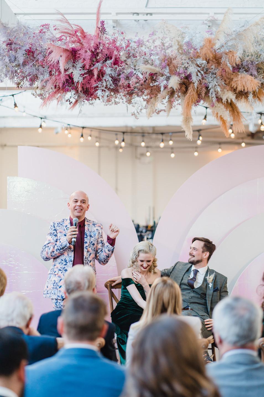Inner city wedding