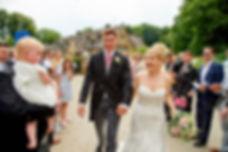 Bride and Groom DIY Wedding