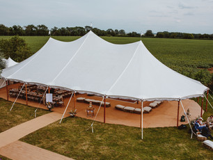 3 essential tips for your marquee / outdoor wedding (from a garden wedding expert)