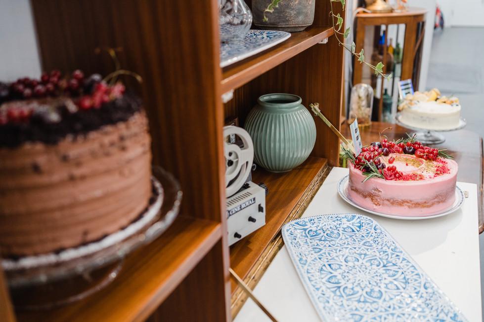 cake station wedding