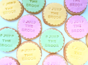 JTB Makes... Stamp-lettered Sugar Cookies