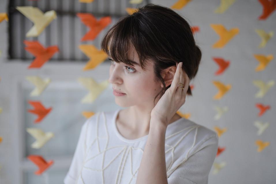 minimalist bridal jewellery