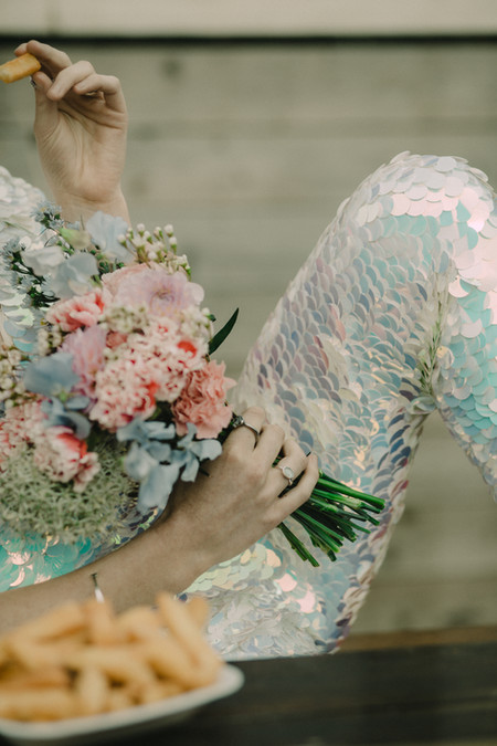 Bride flowers bouquet Dove and Myrtle. Image Chloe Mary Photo.