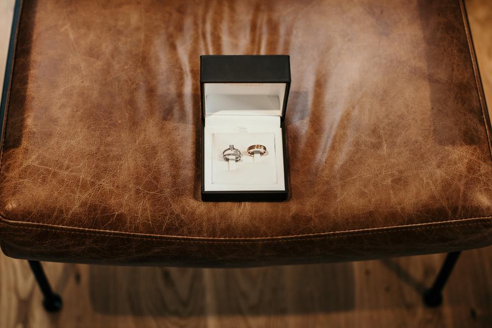 Ring box urban london wedding