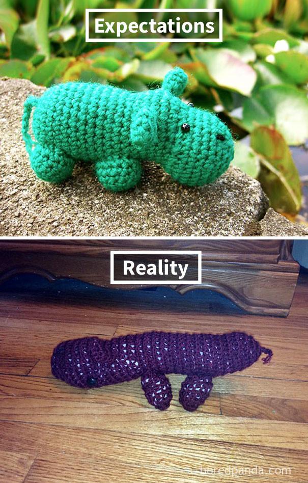 DIY fail crafts handmade reality vs expectation