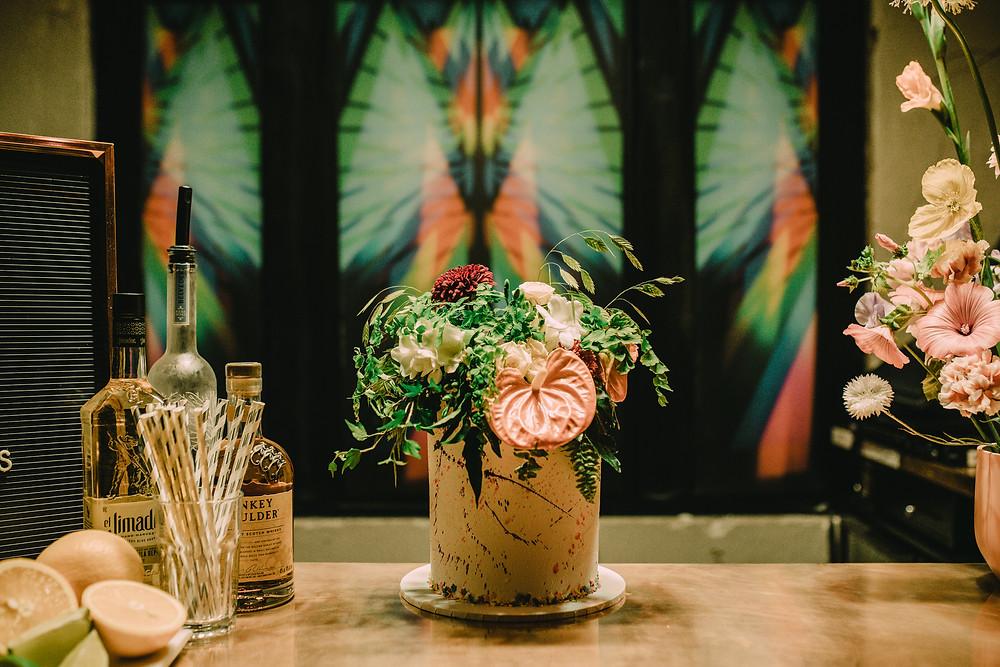 Wedding cake brighton elopement Patterns Nightclub