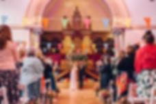 Bride and Groom Round Chapel Hackney