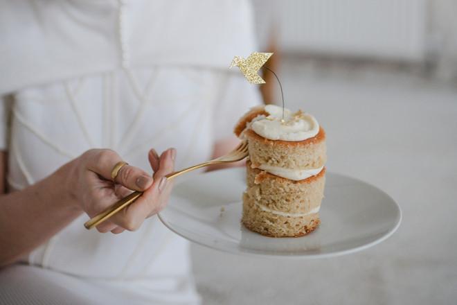 vegan wedding cake favour