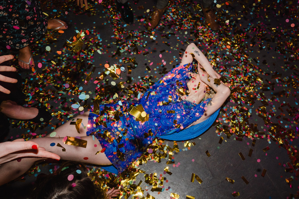wedding confetti glitter