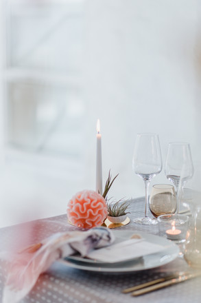 ethical minimalist wedding styling