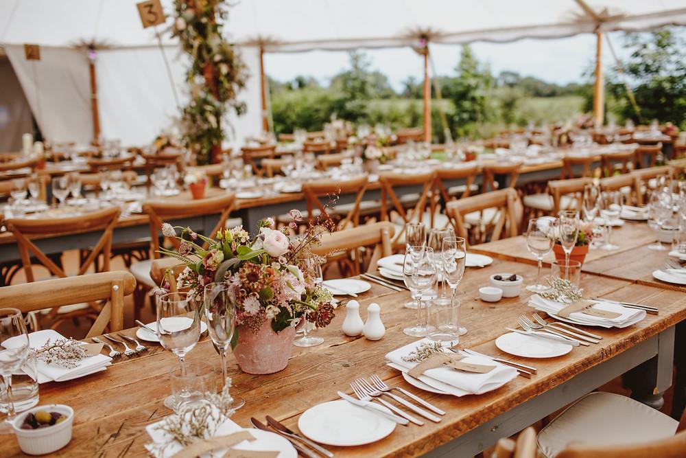 tipi wedding rustic tablescape outdoor summer