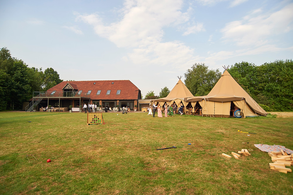 The Gardens Yalding Kent Wedding Outdoor Tipi