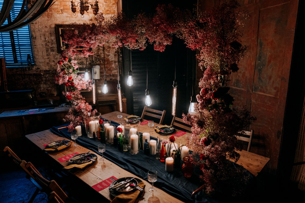 Wedding table, microwedding dining, london wedding venue