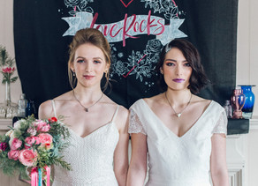 Love Rocks: A festive bridal shoot with a kick