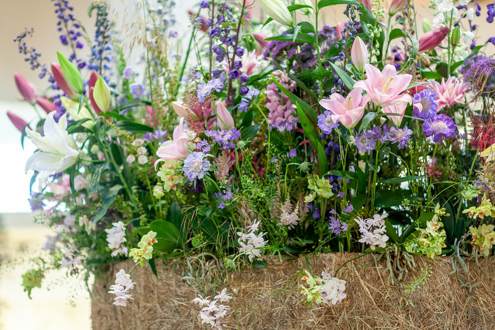 British flowers home grown florist floral installation London