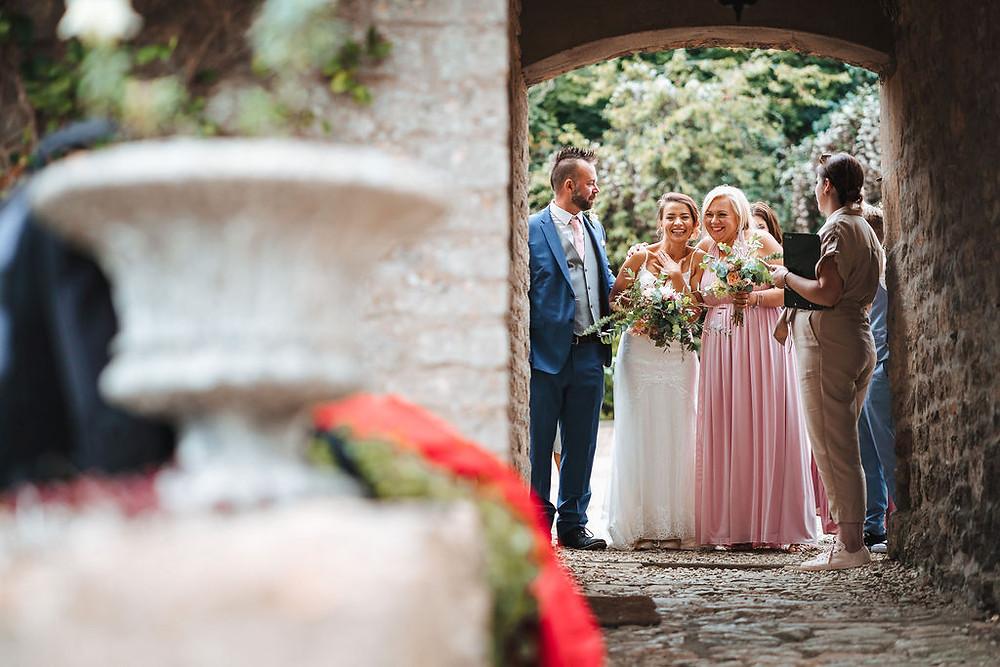 Bride wedding ceremony wedding planner
