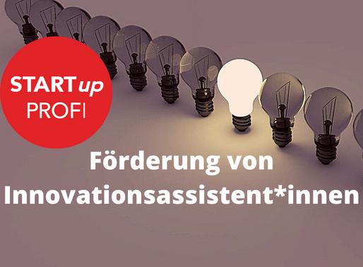Förderung von Innovationsassistent*innen