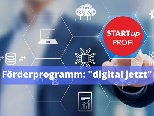 "Neues Förderprogramm: ""digital jetzt"""