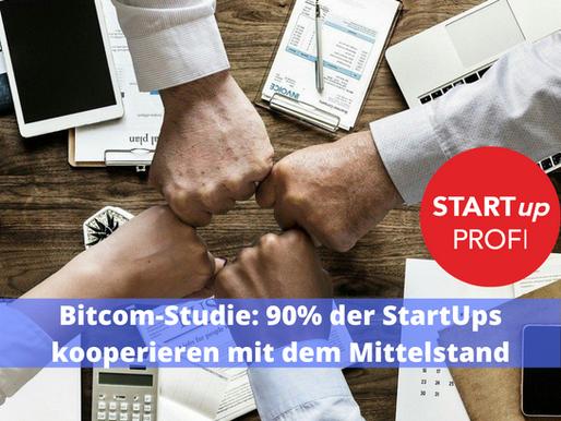 Bitcom-Umfrage: 90% der StartUps kooperieren mit dem Mittelstand