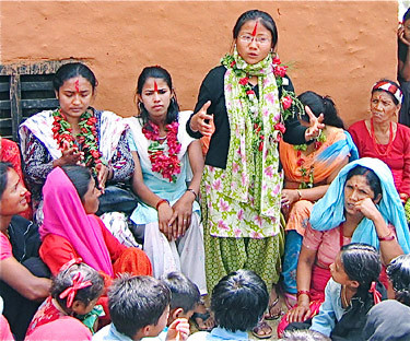 Women Stage Sit-In At Village Council Office