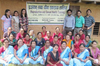 2012 Reproductive Health Workshop in Taklung