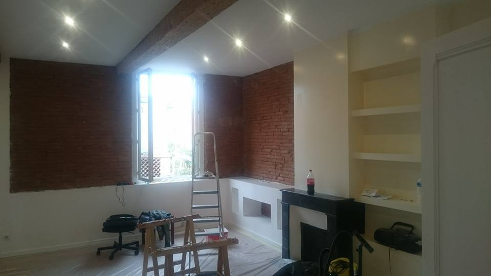 CHANTIER APPARTEMENT MONTAUBAN