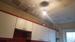 Property Repair Guys 365 fire damage to kitchen ceiling