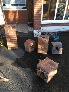Property Repair Guys 365 dismanteled brick pillar ready