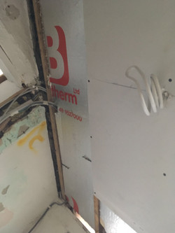 Property Repair Guys 365 Tanking and Plaster board bathroom with insulation