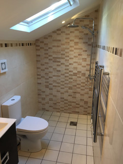 Property Repair Guys 365 Wet room bathroom complete with tiling and facilities
