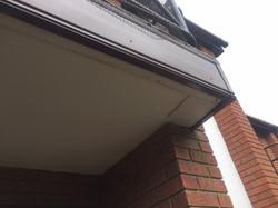 New facia for apartment balcony Property Repair Guys 365