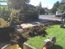 Property Repair Guys 365 garden removal for new wider concrete path