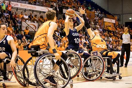 wheelchair basketball (credits Steffi Wu