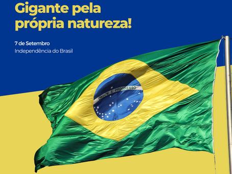 7 de setembro, dia da Independência do Brasil