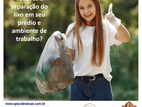 Hoje vamos falar sobre reciclagem!