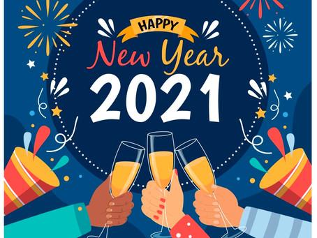 Feliz Ano Novo! Que 2021 seja incrível!