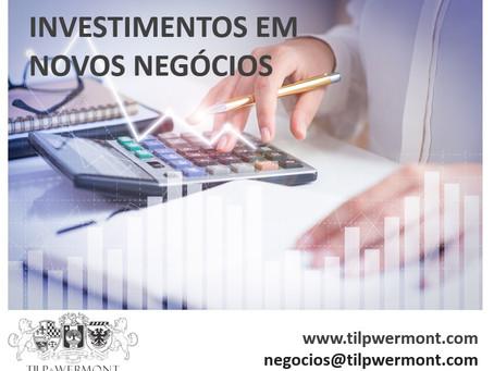 Assessoria para investimentos em novos negócios