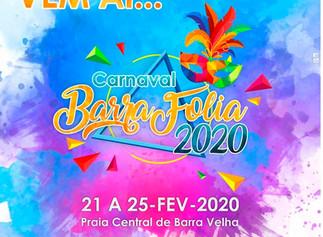 Muita folia no carnaval em Barra Velha