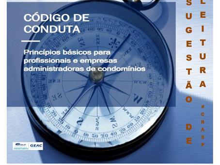 Dica de leitura: Código de Conduta de Gestão Condominial (CRA-SP)