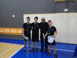 נבחרת הגימנסיה בטניס שולחן ניצחה בטורניר בנס ציונה