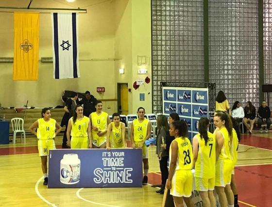 בנות הגימנסיה ניצחו את  קרית שרת חולון    86:29 ועלו לגמר אליפות הארץ