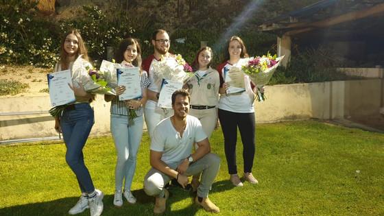 תלמידי הגימנסיה מובילים  בהצטיינות את המעורבות החברתית בעיר