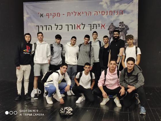נדב בן יהודה בהרצאה לכיתות הספורט