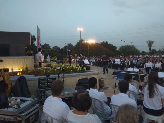 טקס הזיכרון העירוני ליום השואה והגבורה    באנדרטת השואה