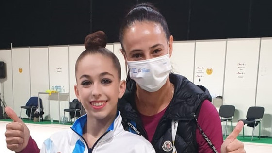 ברכות לדריה אטמנוב  , תלמידת יוד 5 על זכייתה באליפות אירופה בהתעמלות אמנותית לנערות