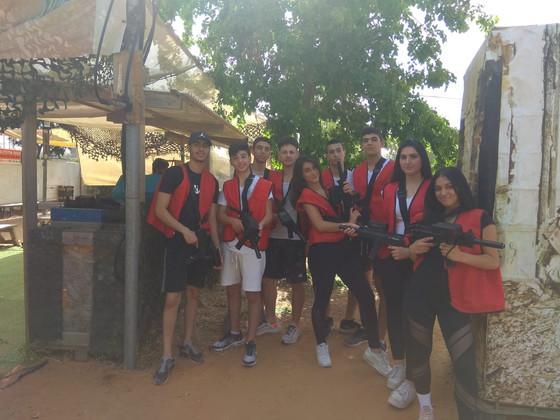 פעילות לכיתות ספורט בפארק אדרנלין חולון