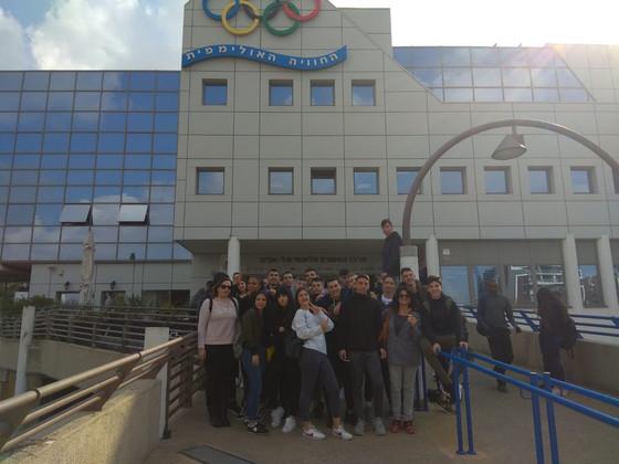 כיתות הספורט ביקרו  בחוויה האולימפית
