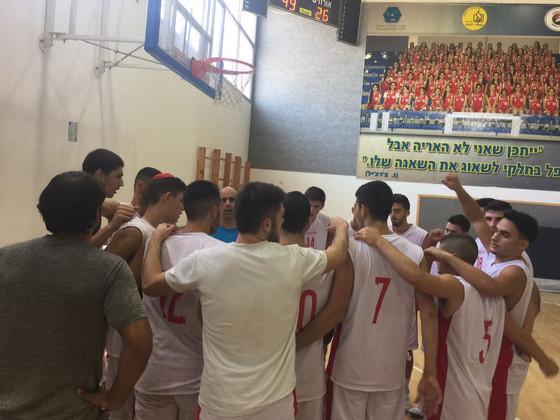 נבחרת הכדורסל של הגימנסיה ניצחה את תיכון הראל - מבשרת ציון84-65